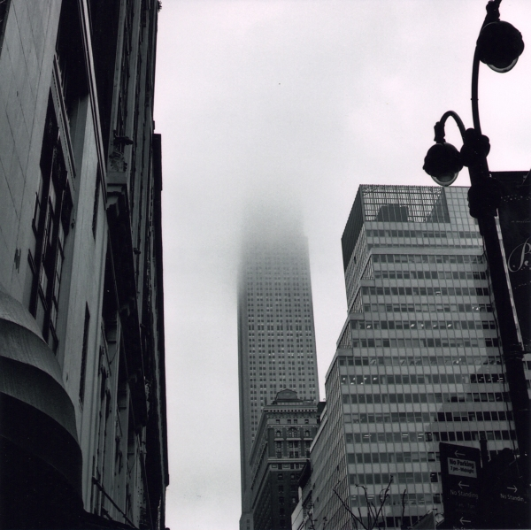 Empire State shrouded 2