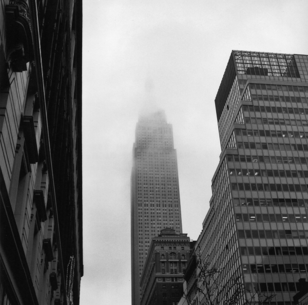 Empire State shrouded 3