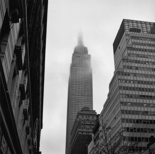 Empire State shrouded 4