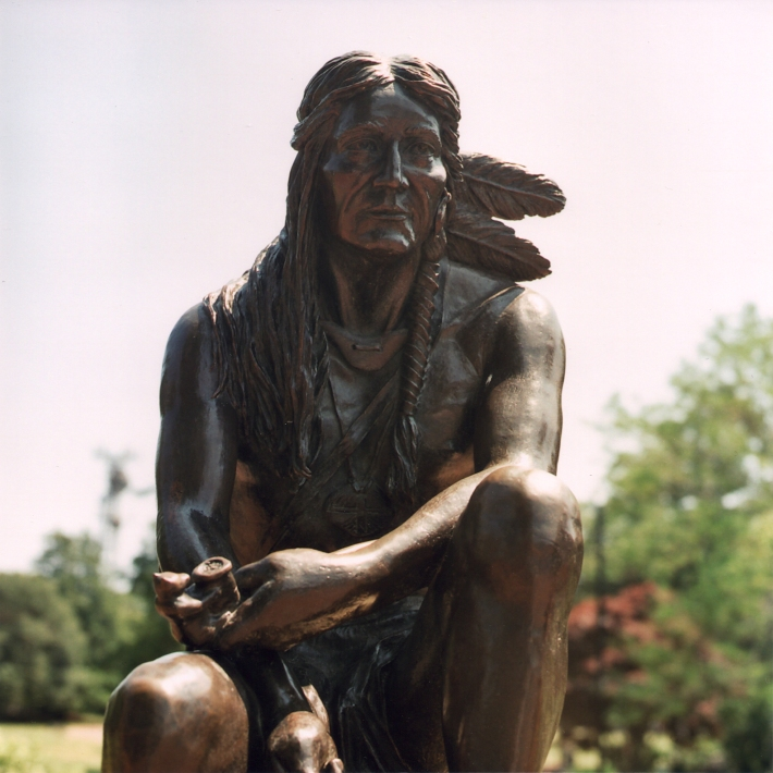 Indian Statue Hyannis MA